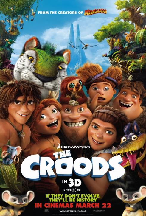 10. The Croods<br/>Hãng DreamWorks Animation đã có 1 năm làm ăn hiệu quả khi cho ra mắt bộ phim hoạt hình 3D phiêu lưu thám hiểm được yêu thích The Croods. Bằng chứng là dù chỉ bỏ ra kinh phí 135 triệu USD nhưng doanh thu của bộ phim cũng không kém cạnh bất cứ bom tấn nào với 587 triệu USD. <br/><br/> Bộ phim đã mất đến 8 năm cho khâu sản xuất, chuyển giao tác quyền và hoàn thiện để ra rạp vào tháng 3/2013. Ngay khi ra mắt, The Croods đã thể hiện được sức hút của mình khi trở thành phim hoạt hình có doanh thu cao thứ 20 trên thế giới và là phim thu về lợi nhuận lớn thứ 2 của hãng DreamWorks Animation, chỉ sau Kung Fu Panda.
