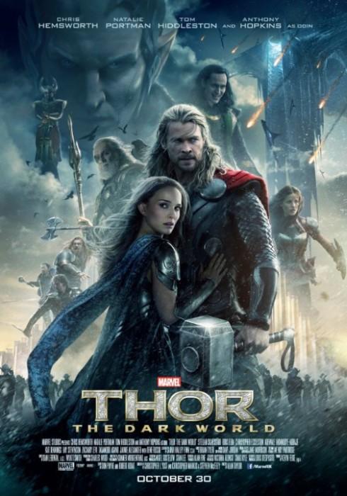 9. Thor: The Dark World<br/>Ra mắt vào tháng 10/2013, Thor: The Dark World đã có một chiến lược thương mại hợp lý để có thể thu về 629 triệu USD doanh thu trên toàn thế giới, cao hơn phần đầu gần 200 triệu USD dù kinh phí ban đầu bỏ ra chỉ cao hơn có 20 triệu USD. <br/><br/> Nhờ vào tiếng vang của phần 1, lượng fan yêu thích cuốn truyện tranh mà bộ phim chuyển thể, cộng thêm với việc không còn phải nặng về giới thiệu nhân vật như phần đầu nên Thor: The Dark World có nhiều đất hơn cho các màn giao chiến hoành tráng cùng với các kỹ xảo đẹp mắt, bởi thế phần hình ảnh là một điểm cộng lớn kéo nhiều người xem tới rạp hơn trong phần này.