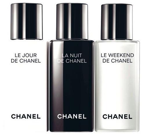 Dưỡng da: Le Jour, La Nuit, Le Weekend de Chanel, Chanel.