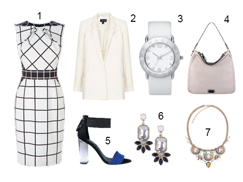 1.Karen Millen 2.Topshop 3.Marc By Marc Jacobs 4.Nine West 5.Charles & Keith 6.Accessorize 7. Accessorize