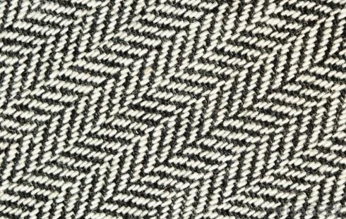 Chi tiết dệt của vải tweed