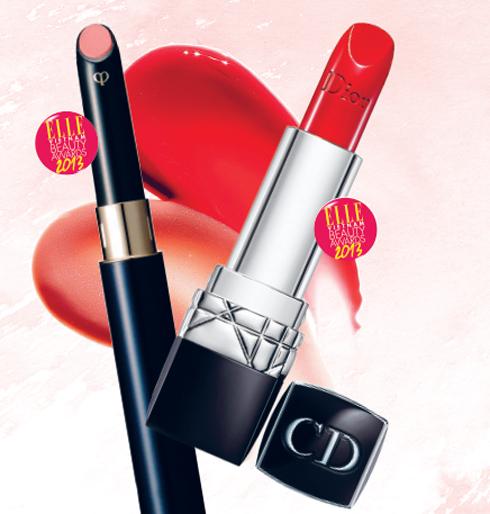 HẠNG MỤC SON MÔI<br/>Sản phẩm ngôi sao của năm:  CLÉ DE PEAU BEAUTÉ Enriched Lip Luminizer <br/> Son môi giàu ẩm, cải thiện các vấn đề của môi, tăng cường độ căng mọng khi sử dụng đều đặn. <br/> <br/> Sản phẩm bạn đọc yêu thích: DIOR Rouge <br/> Công thức chứa Hyaluronic Axit giúp bờ môi căng mọng, những hạt màu lan tỏa trên môi thêm rạng rỡ.