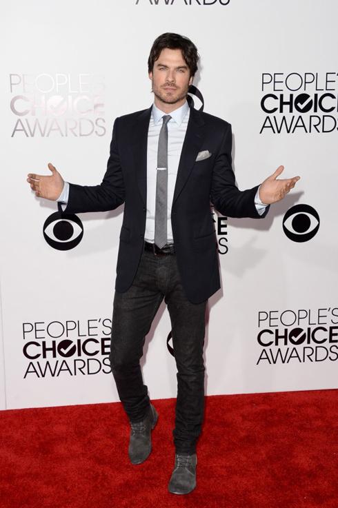 Nam diễn viên Ian Somerhalder của serie phim Vampire Diaries