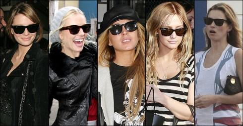 Bước sang thập niên 1990, Wayfarer vắng bóng trong thời trang. Mãi đến cuối những năm 2000, mẫu kính kinh điển mới quay trở lại khi những ngôi sao như Chloe Sevigny hay Mary-Kate Olsen ưa chuộng các phom kính vintage. Từ đó hiện tượng Wayfarer lại bình lên lần nữa và hầu như mỗi ngôi sao và fashionista đều không thể cưỡng lại sức hút của nó.