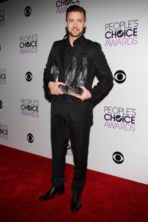 Nam ca sĩ Justin Timberlake thắng lớn với 3 giải thưởng: Nam ca sĩ được yêu thích nhất, Album được yêu thích nhất và Ca sĩ nhạc Pop được yêu thích nhất.