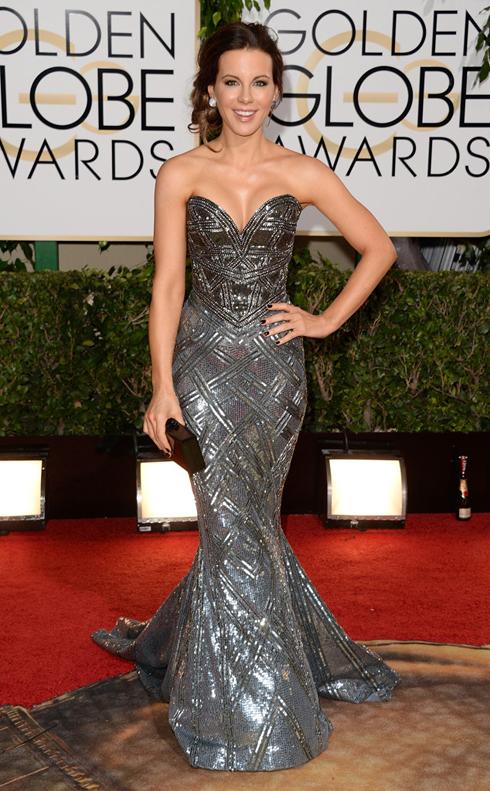 Kate Beckinsale mặc đầm dạ hội của Zuhair Murad.