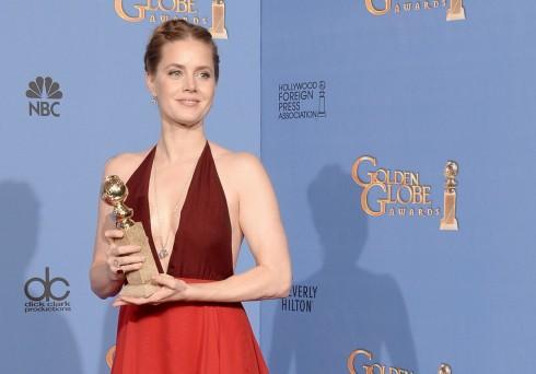 Amy Adams thắng giải Nữ diễn viên chính phim hài/ca nhạc xuất sắc trong phim American Hustle