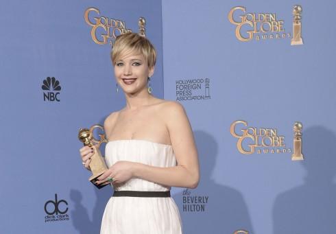 Nữ diễn viên Jennifer Lawrence thắng giải Nữ diễn viên phụ xuất sắc trong phim American Hustle