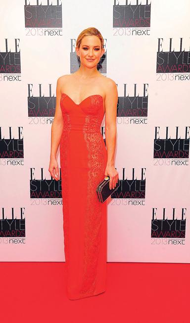 Tại lễ trao giải Phong cách của ELLE Mỹ, Kate Hudson đã chọn sự thanh lịch đầy hiện đại từ thương hiệu Stella McCartney.