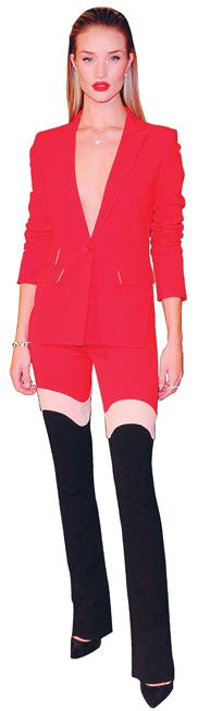 Bông hồng nước Anh Rosie Huntington-Whiteley quyến rũ và nổi bật trong thiết kế Xuân-Hè 2014 mớinhất của Antonio Berardi tại lễ traogiải Thời trang Anh2013 (British Fashion Awards).