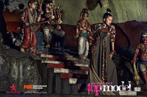 Hình ảnh của Phan Như Thảo trong phần thi photoshoot