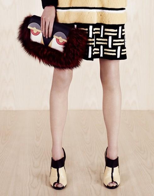 Giày và túi Fendi