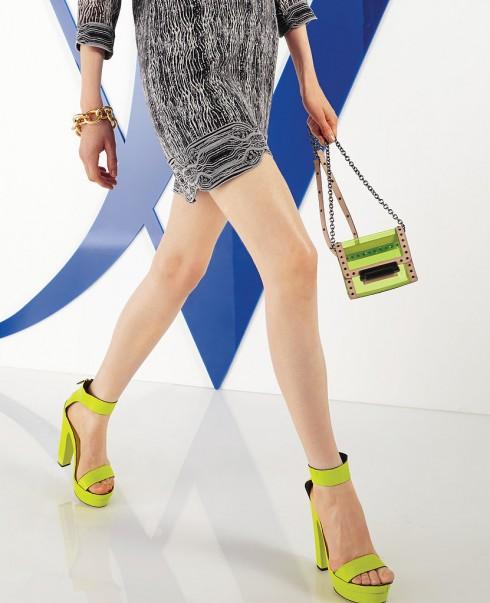 Giày và túi Diane von Furstenberg