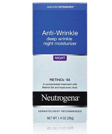 Kem dưỡng ẩm ban đêm chống lão hoá và chống nếp nhăn Neutrogina