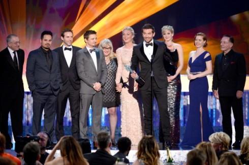 Đoàn phim American Hustle nhận giải Phim điện ảnh xuất sắc tại SAG Awards