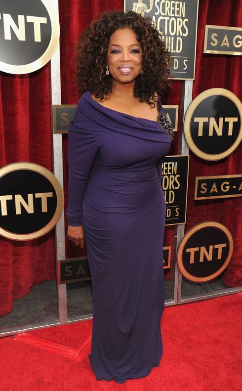 Nữ hoàng truyền hình Oprah Winfrey