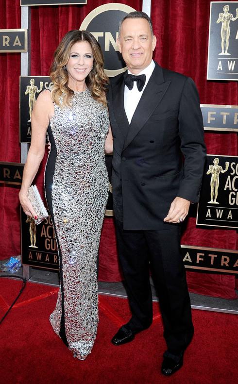 DIễn viên gạo cội Tom Hanks và Rita Wilson.