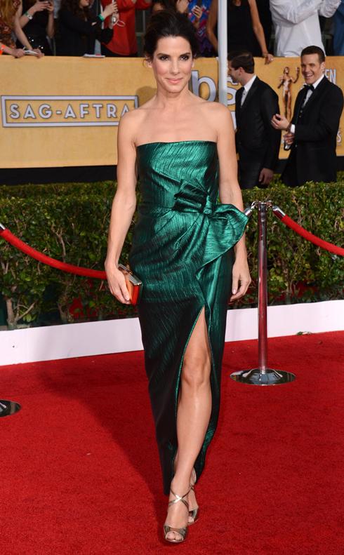 Sandra Bullock trong đầm dạ hội Lanvin