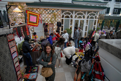 Metropole Tet market - Vie