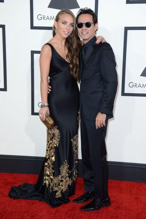 Ca sĩ Chloe Green và Marc Anthony