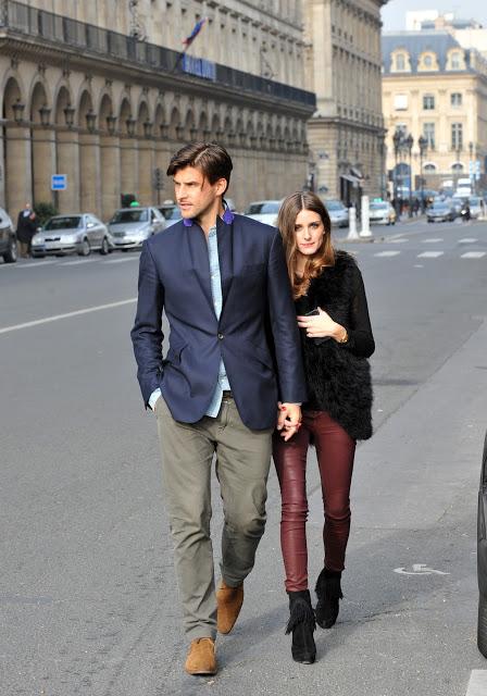 Olivia Palermo và Johannes Huebl