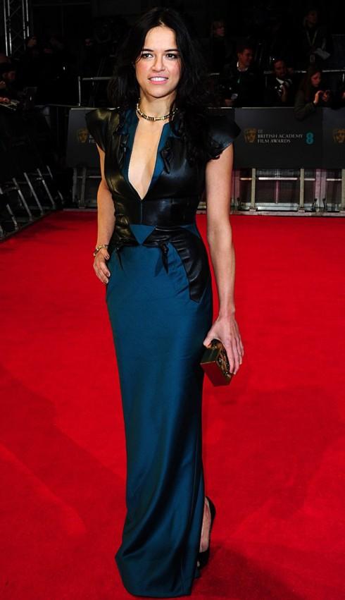 Nữ diễn viên Michelle Rodriguez của seri phim Fast And Furious.