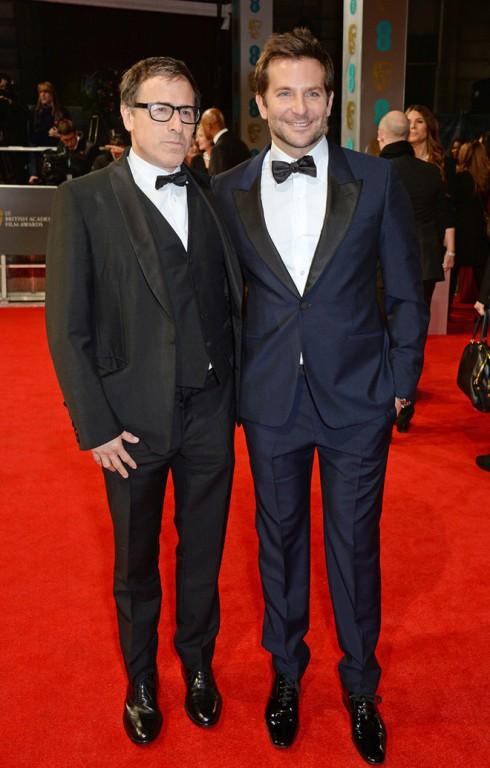 Diễn viên David O Russell và Bradley Cooper.