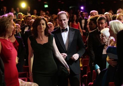 Một điểm đặc biệt của Lễ trao giải BAFTA năm nay là sự góp mặt của Hoàng tử Anh William, để trao giải