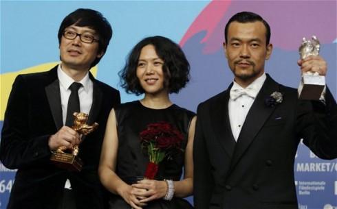 Ê kíp phim Black Coal, Thin Ice nhận giải thưởng Gấu vàng