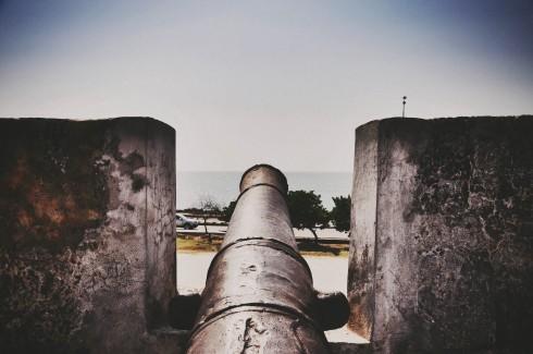 Những khẩu pháo bảo vện Cartagena khỏi cướp biển