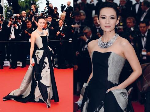Chương Tử Di đã nhiều lần có mặt tại Liên hoan phim Cannes. Cô cũng từng là giám khảo của LHP này vào năm 2006
