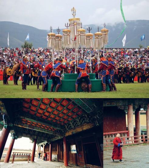Là đất nước của những thảo nguyên xanh mướt, nhưng Mông Cổ đồng thời cũng là xứ sở của những màu sắc ấm áp, và những hoa văn trang trí vừa tinh xảo, vừa ẩn chứa nhiều quan điểm triết học.