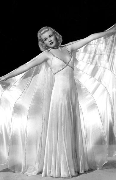 """Diễn viên Ginger Rogers trong bộ phim """"Swing Time"""" (1936)"""