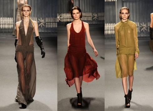 Những chiếc váy tại show diễn Vera Wang 2011 lấy cảm hứng từ thời trang những năm 1930