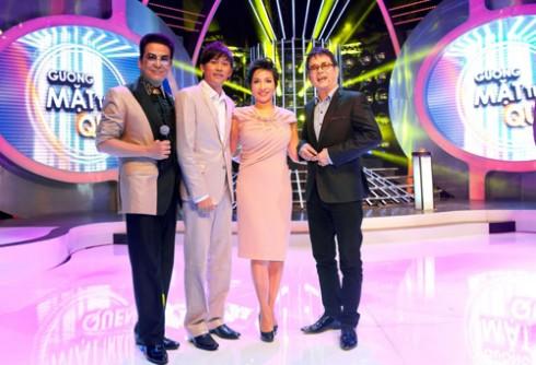 Bộ 3 giám khảo Đức Huy, Thanh Bạch sẽ tiếp tục tham dự chương trình Gương mặt thân quen mùa 2
