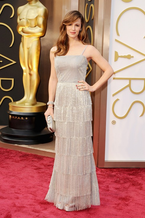 Jennifer Garner trong trang phục Oscar de la Renta