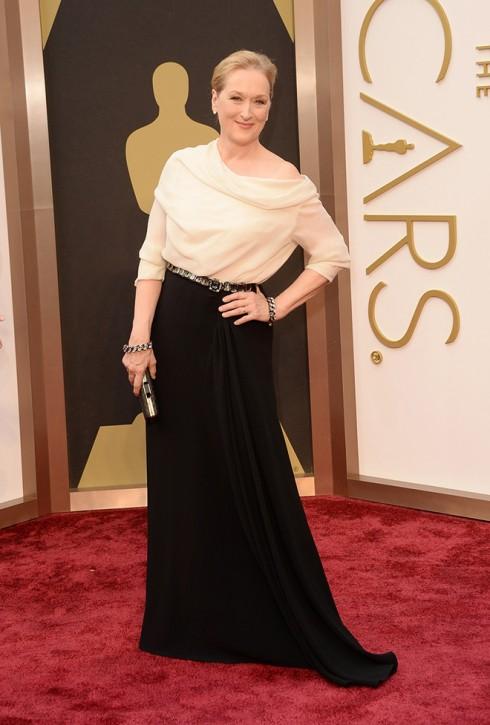Nữ diễn viên kì cựu Meryl Streep và trang phục Lanvin