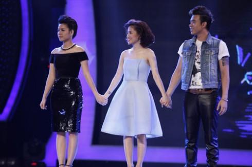 Ngân Hà, Yến Lê, Đông Hùng cùng nhau bước vào vòng sing-off sau đêm Gala 3