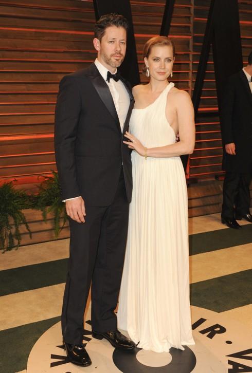 Diễn viên Amy Adams cùng hôn phu Darren Le Gallo