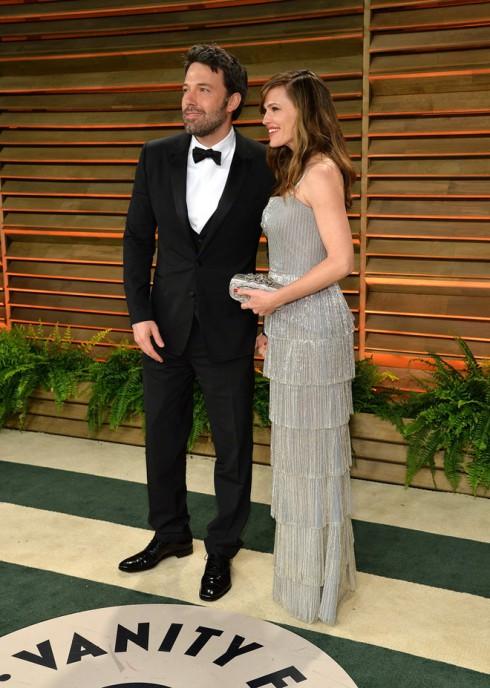 Ben Affleck và vợ - diễn viên Jennifer Garner.