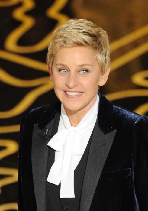 Người dẫn chương trình của Oscar 2014 - Ellen DeGeneres.