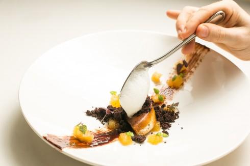 Foie Gras w Choco Sauce