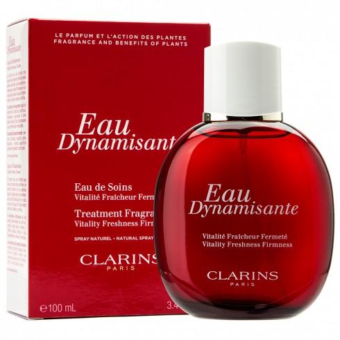 4. Eau Dynamisante là nước hoa cũng là dầu dưỡng thể, Clarins