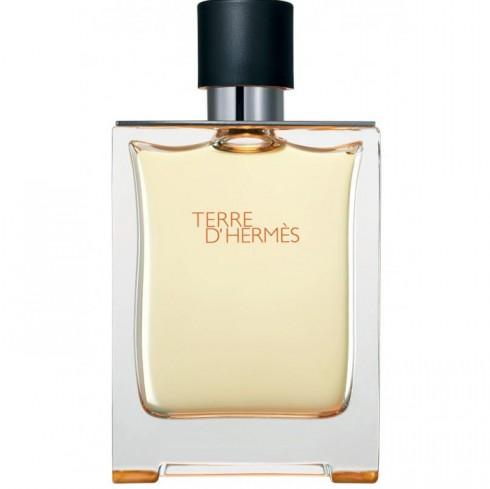Nước hoa Hermes Terre D' Hermes - Mùi hương đặc trưng:  Lớp hương đầu: cam, bưởi. Lớp hương giữa: hương tiêu,cây quỳ thiên trúc. Lớp hương cuối: hoắc hương, gỗ tuyết tùng, gỗ vertier, nhựa cây