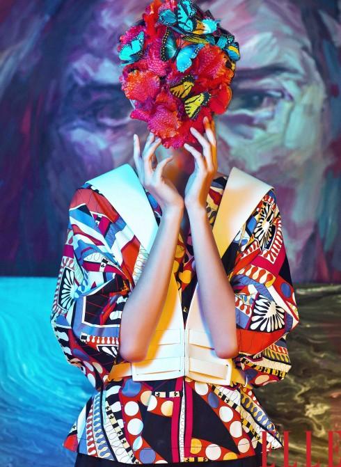 Bộ ảnh The Artist sẽ được giới thiệu đến bạn đọc trên số tạp chí Phái đẹp ELLE tháng 4, ra mắt độc giả ngày 20/03/2014.