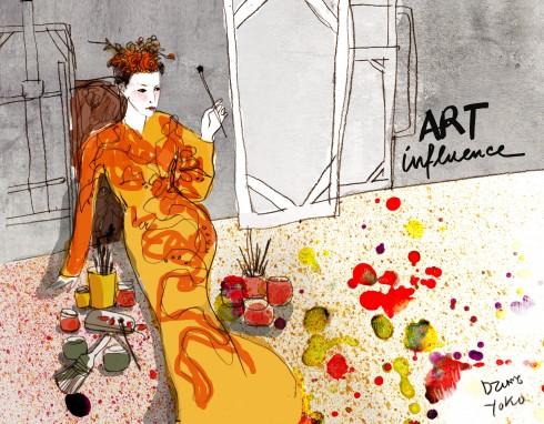 Chỉ đạo mỹ thuật Dzũng YoKo lấy ý tưởng để thực hiện chủ đề này dựa vào xu hướng mới trong làng thời trang gần đây, khi mà các nhà thiết kế mang hội họa vào thời trang và biến nó trở thành các tác phẩm nghệ thuật độc đáo.