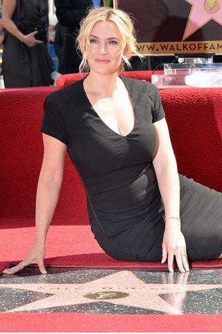 Kate Winslet nhận sao trên Đại lộ danh vọng