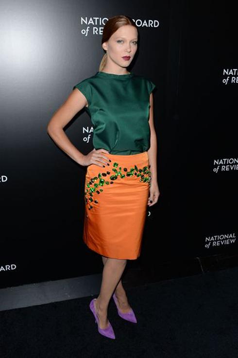 Năm 2014 - Léa trong trang phục Prada