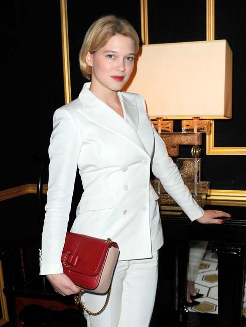 Cô tham dự show của H&M tại tuần lễ thời trang Paris năm 2012.