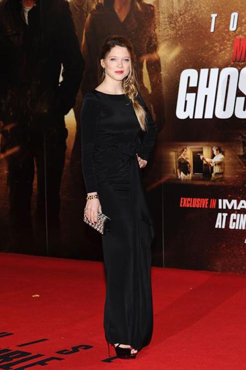 Năm 2011 - Léa tại Premier phim Mission Impossible 4 tại London